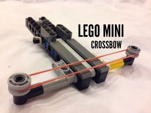 Lego Mini Crossbow (With Tutorial) - YouTube