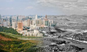 """""""The Great Leap Upward: China's Pearl River Delta, then and now"""" - The Guardian"""