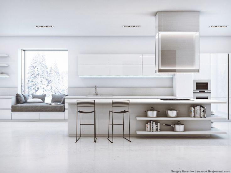 Kitchen Minimalism. Кухня минимализм.