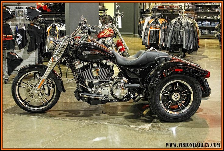 2013 harley davidson freewheeler   Harley davidson 125 cc neuve - acheter avec Faire le Poireau
