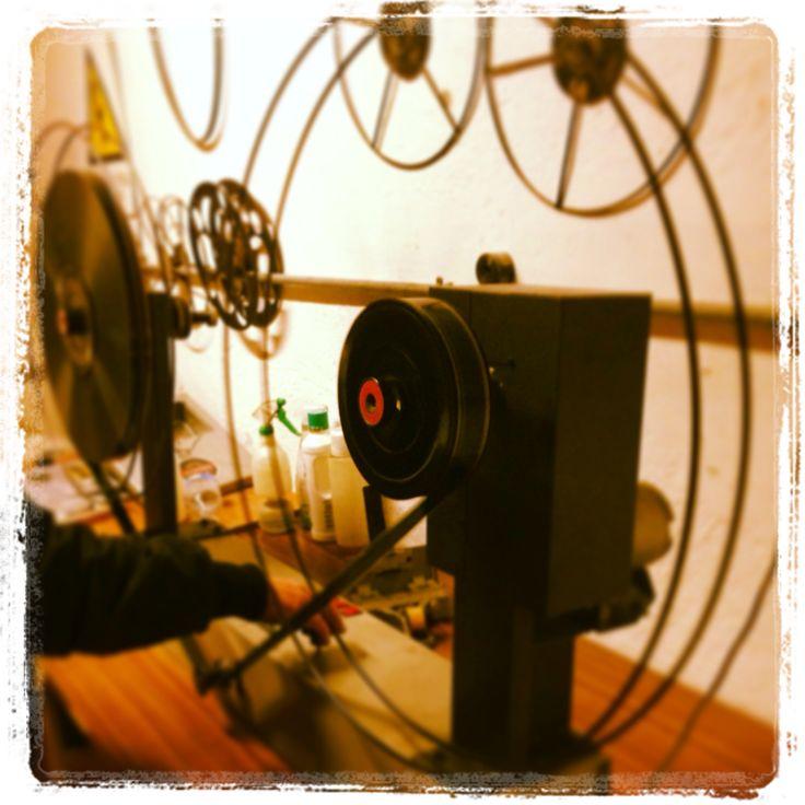 Una serata in cabina al Cinema Rossini di Civitanova Marche. Storia e tradizione di una città. #cinema #civitanova #marche #italia #film
