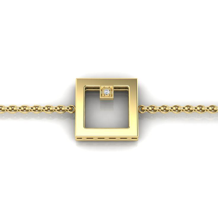 Silver Diamond Bracelet. R1000 Product Code- WW00009