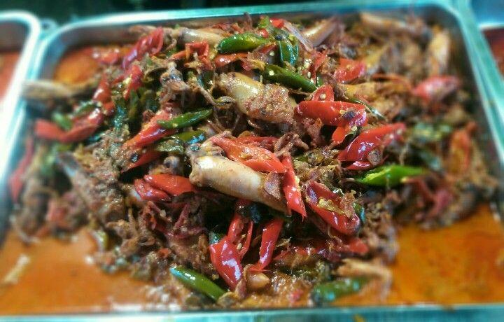 Cumi Asin Balado #traditionalfood #indonesia