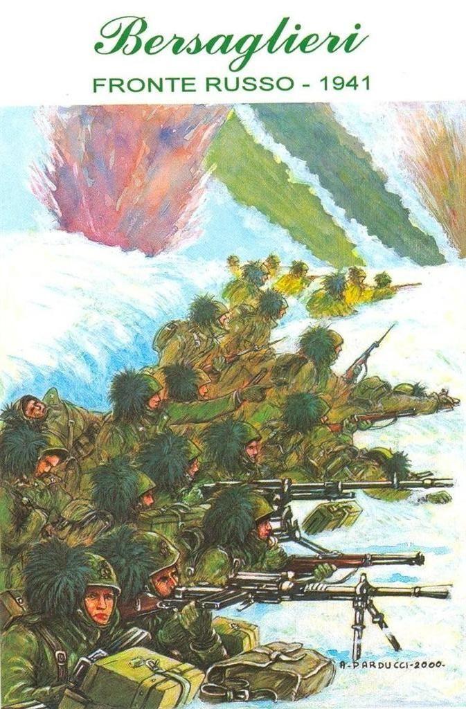 Regio Esercito - Fronte Russo, battaglia di Natale - IL 3° Reggimento Bersaglieri impegnato nella difesa del caposaldo di Petropawlowka