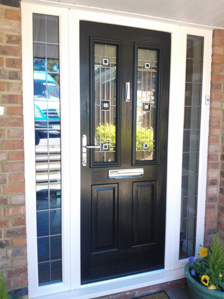 Our Ludlow Timber Core Composite Door Range from the Solidor Collection, you can design your perfect new front door online and get a quote and have it fitted anywhere in the UK.