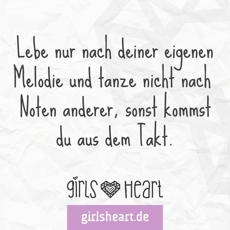 Mehr Sprüche Auf: Www.girlsheart.de #