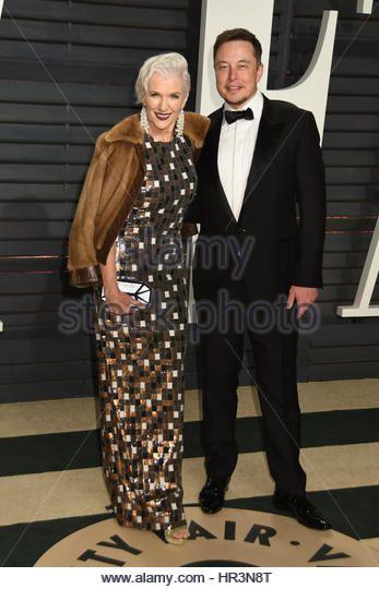Beverly Hills, CA, USA. 26th Feb, 2017.  Elon Musk. 2017 Vanity Fair Oscar Party held at the Wallis Annenberg Center. Photo Credit: Byron Purvis/AdMedia Credit: Byron Purvis/AdMedia/ZUMA Wire/Alamy Live News - Stock Image