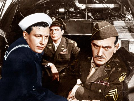 THE BEST YEARS OF OUR LIVES, from left: Harold Russell, Dana Andrews, Frederic March, 1946 Posters at AllPosters.com