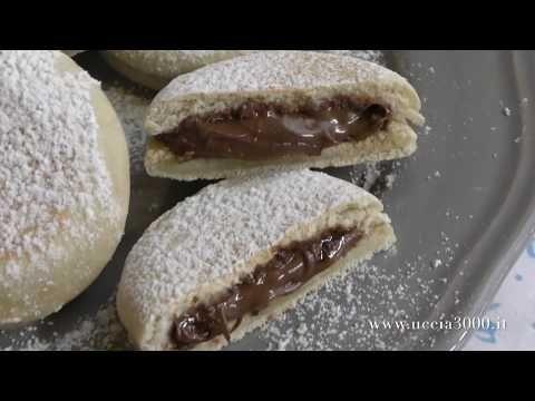Focaccine alla nutella senza forno,senza lievitazione senza uova o burro. ricetta veloce - YouTube