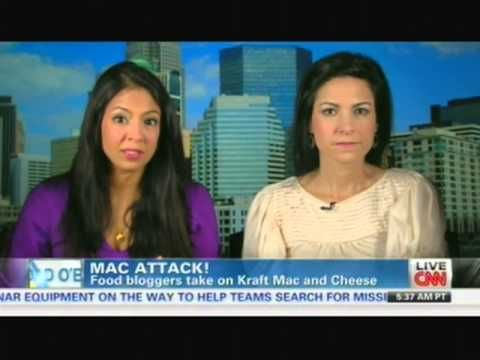 Food Bloggers Vani Hari & Lisa Leake Take On Kraft Mac & Cheese: Live Interview on CNN
