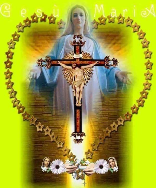 Matka Božia nás privedie ku svojmu Synovi - modlime sa preto spolu s Pannou Máriou Sv. ruženec.