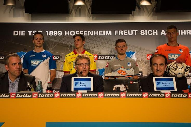 Lotto e TSG 1899 Hoffenheim presentano le nuove maglie