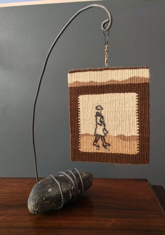 Sarah Swett, display small tapestry