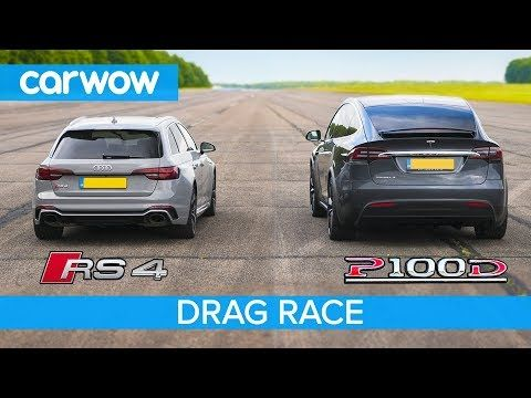 Audi Rs4 Vs Tesla Model X P100d Drag Race Rolling Race Brake Test Youtube Cars Bikes Trucks Audi Rs4 Audi Tesla Model X