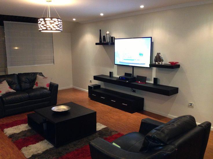 17 best images about sala tv on pinterest mesas drywall for Decorar la sala de mi casa