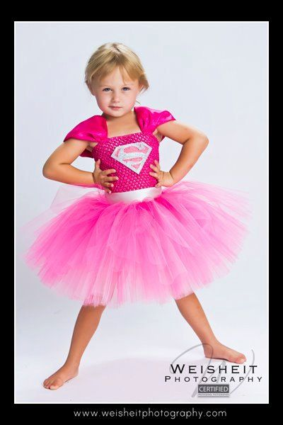 Supergirl Inspired Tutu Dress