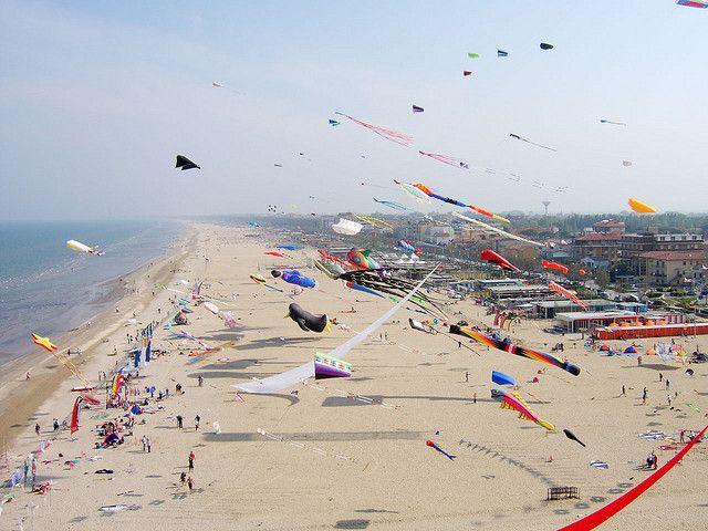 Cervia, Italy  - International Kite Festival