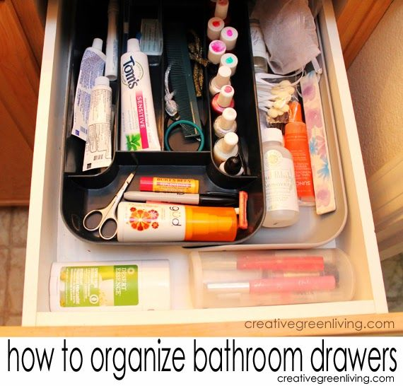 17 best images about tidiness on pinterest spice racks diy makeup organizer and makeup for How to organize bathroom drawers