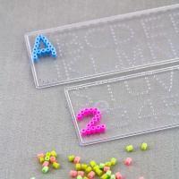 Pärlplattor, Bokstäver & Siffror, 2-pack Make & Create