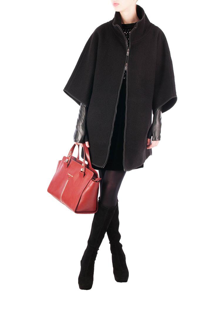 Пальто EMPORIO ARMANI, (цвет: черный) - купить по цене 39130 рублей - Elyts.ru