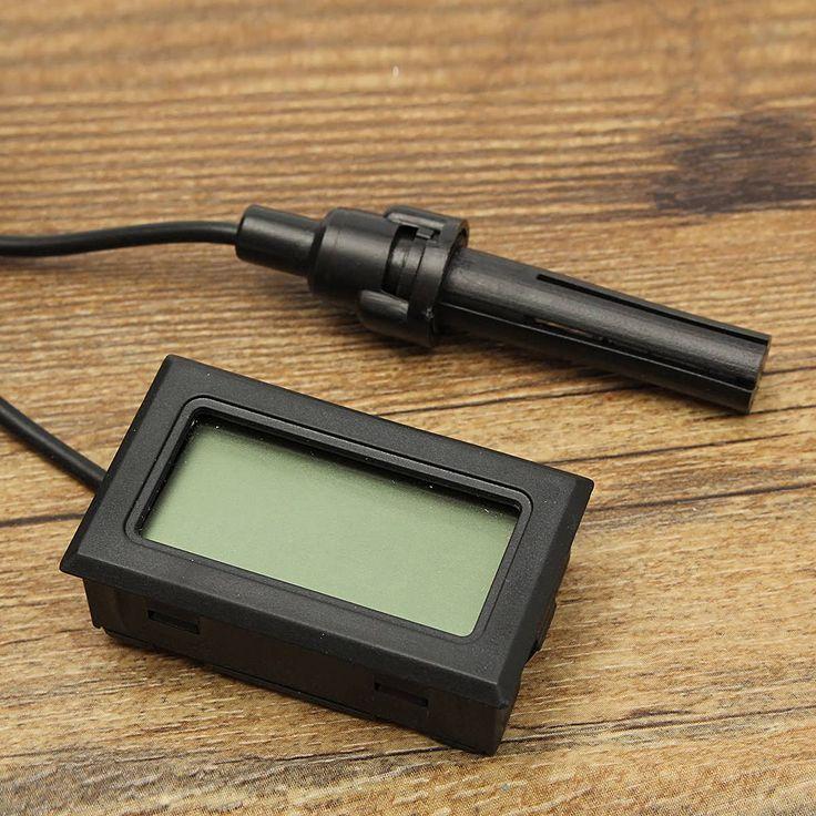Description:     Mini Digital Thermometer Hygrometer Humidity LCD Monitor Probe for Egg Incubator     Specification:    Color: Black Material: Plastic Measuring Humidity Range: 10%RH ~ 99%RH Humidity Accuracy: +5/-5% Humidity Display Resolution:1%RH Measuring...