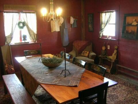 Country/Prim dining rooms
