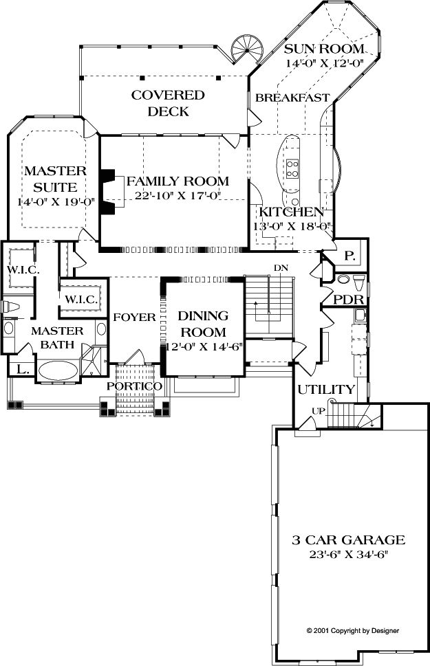 Floor Plans Main Level Love The Master Suite With The
