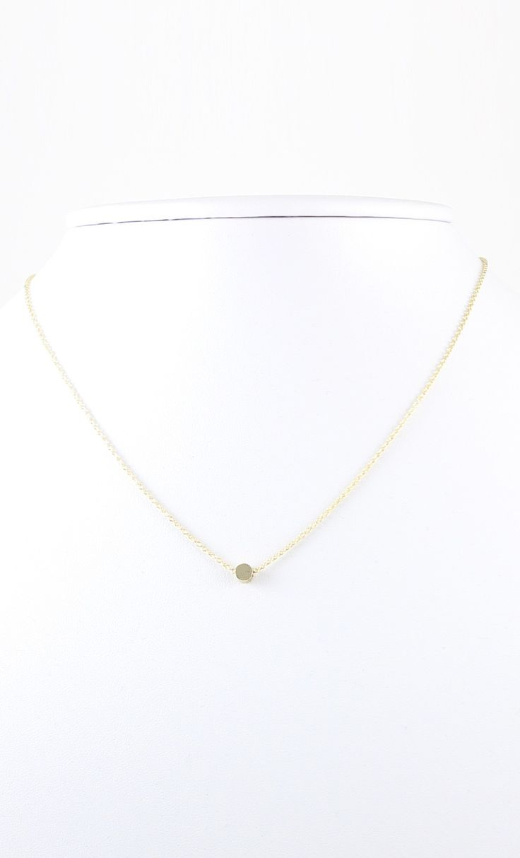 #dainty #solid #circle #necklace GET IT AT WWW.SHOPPUBLIK.COM