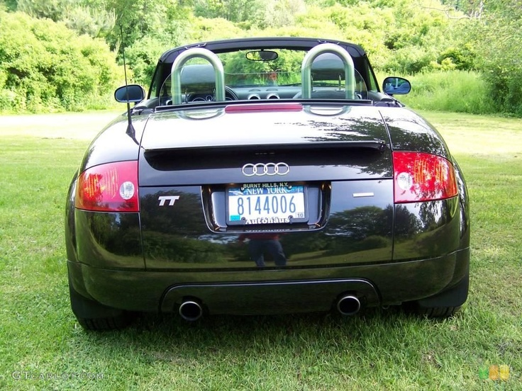 2001 audi tt | 2001 Audi TT 1.8T quattro Roadster - Raven Black Pearl Color / Aviator ...