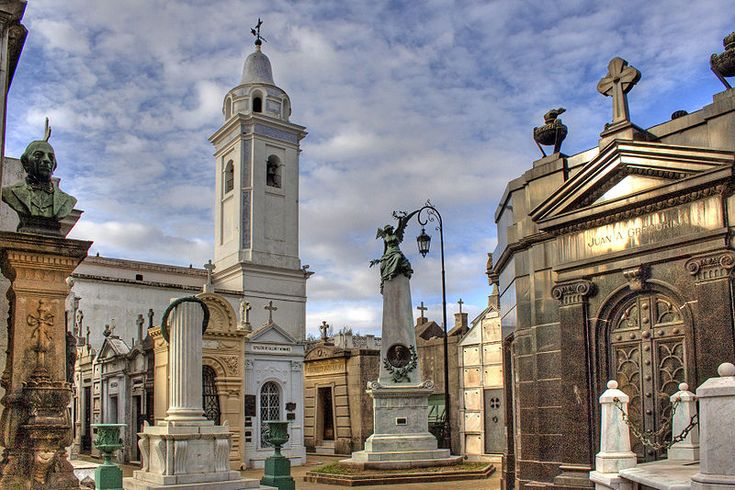 La Recoleta Cemetery and Our Lady of Pilar Church