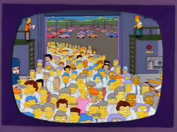 Stark raving dad - Season 3 Episode 1 - Simpson episode related to Rosenhan