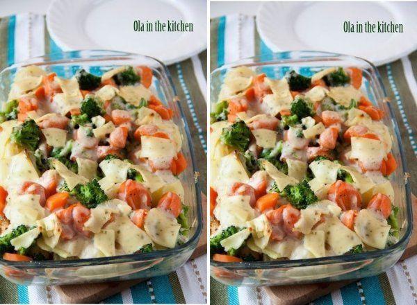 Pyszna i szybka ZAPIEKANECZKA z kurczakiem i warzywami na obiad!