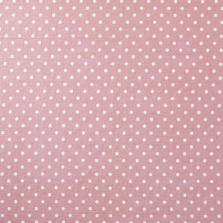 Stoff Prikkete Rosa 150 cm