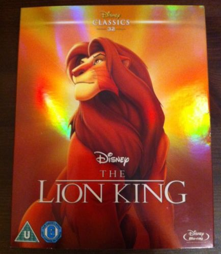 #Disney the lion king #blu-ray,  View more on the LINK: 	http://www.zeppy.io/product/gb/2/162375872475/