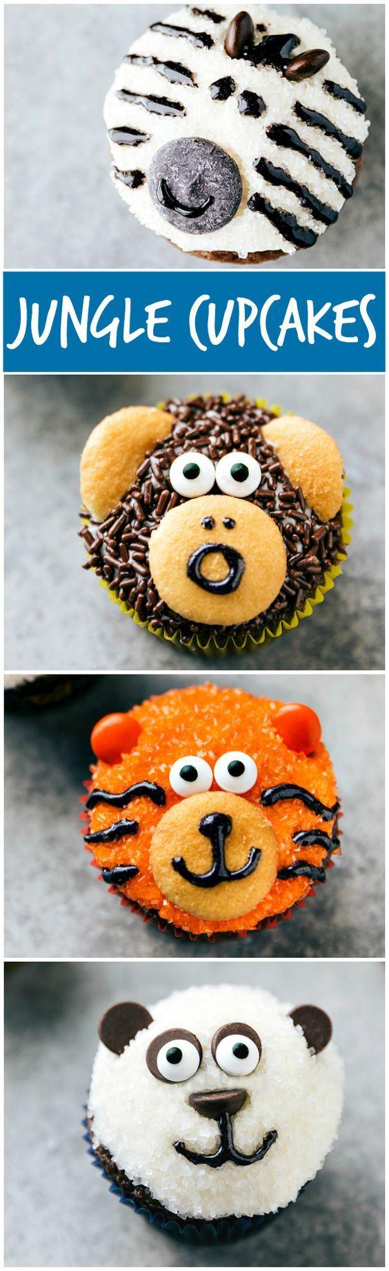 cool Zebra Cupcakes