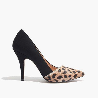Madewell - The Mira Heel in Leopard