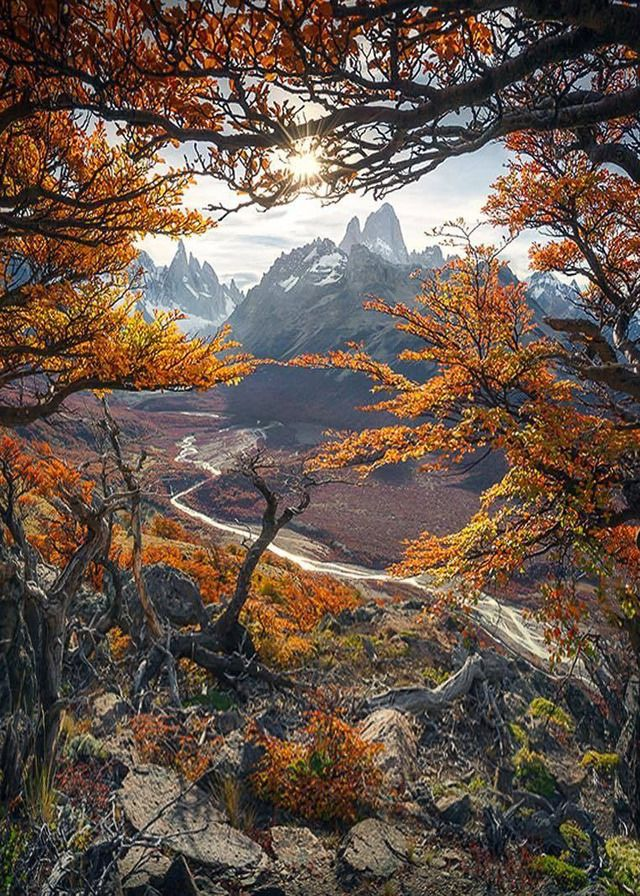 Patagonia In Fall Beautiful Nature Beautiful Landscapes Fall Pictures Nature