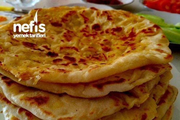 Mayalı Patatesli Tava Ekmekleri