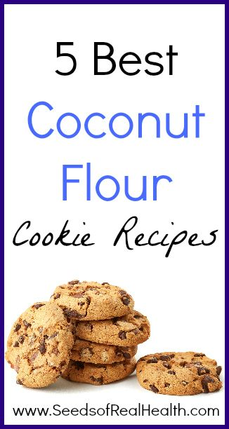 Best coconut flour cookie recipes seeds of real healthseeds of