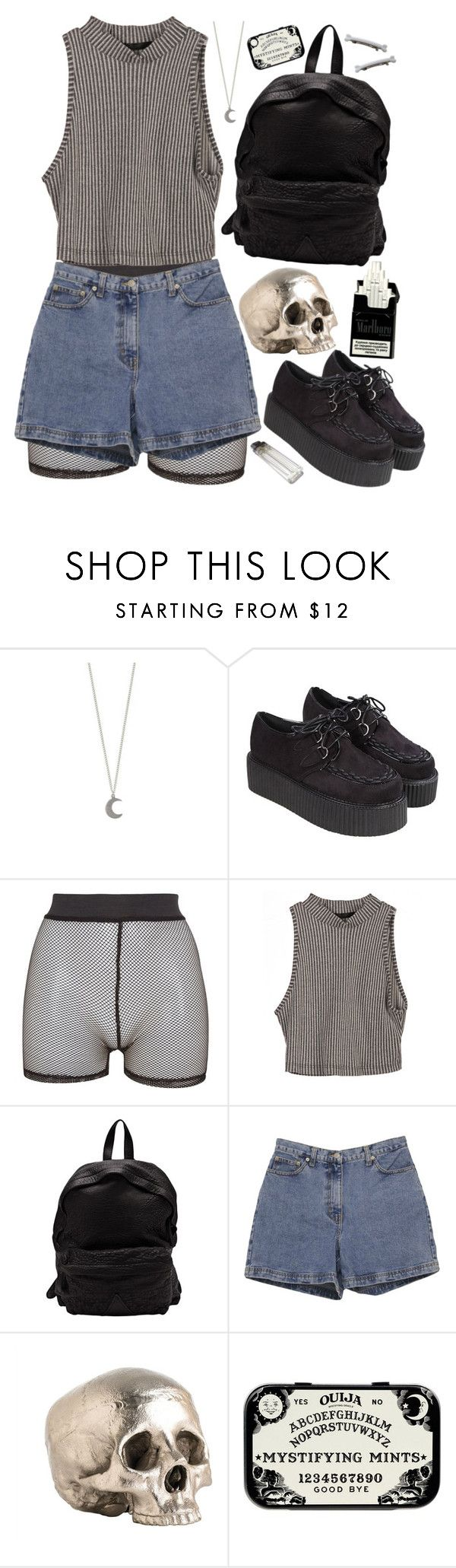 """""""monster"""" by dahmergirl ❤ liked on Polyvore featuring Bitching & Junkfood, Officine Creative, Ann Taylor and Arteriors"""
