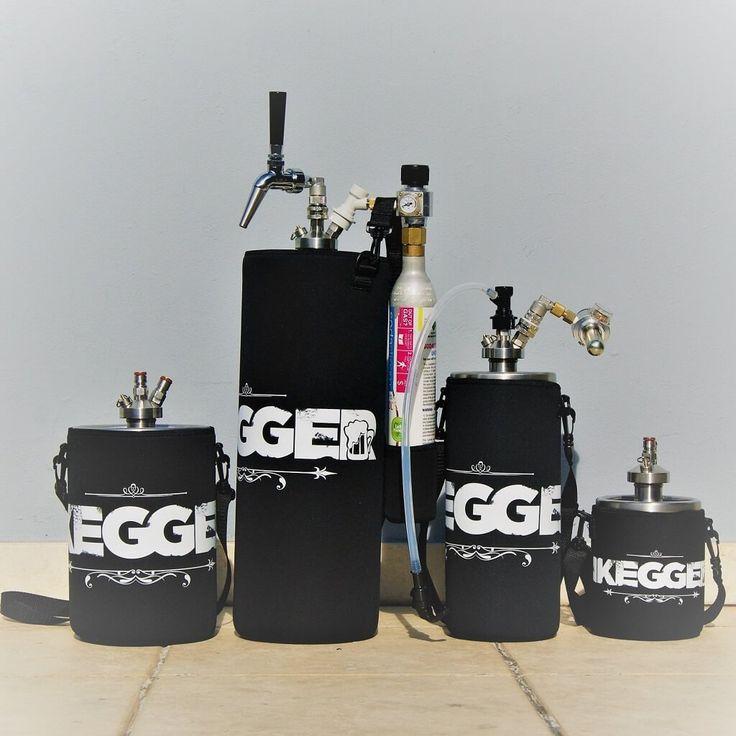 Mini Keg Cooler Sleeve | Neoprene with Shoulder Strap   #beer #keg #minikeg #homebrew #brewing #growlerfillfriday #growler #craftbeernotcrapbeer #craftbeer