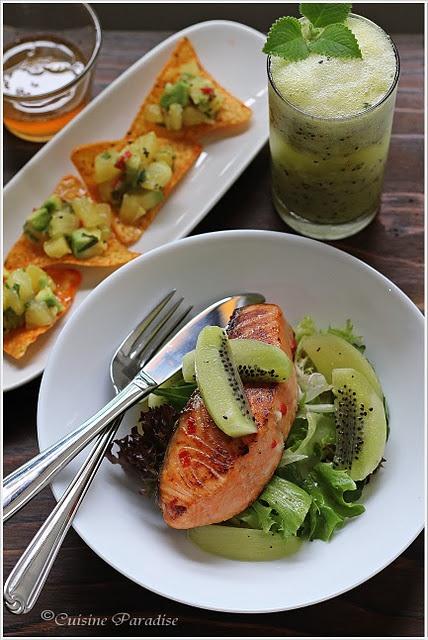 Kiwi e salmone, abbinamento da provare!