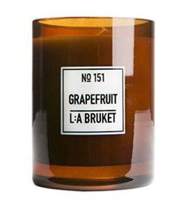 L:a Bruket 151 Doftljus Grapefruit 260 G - Eko | Fina Mig