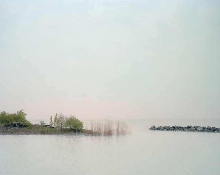 akosmajor: Wave breakers  Lake Balaton, Hungary 2012