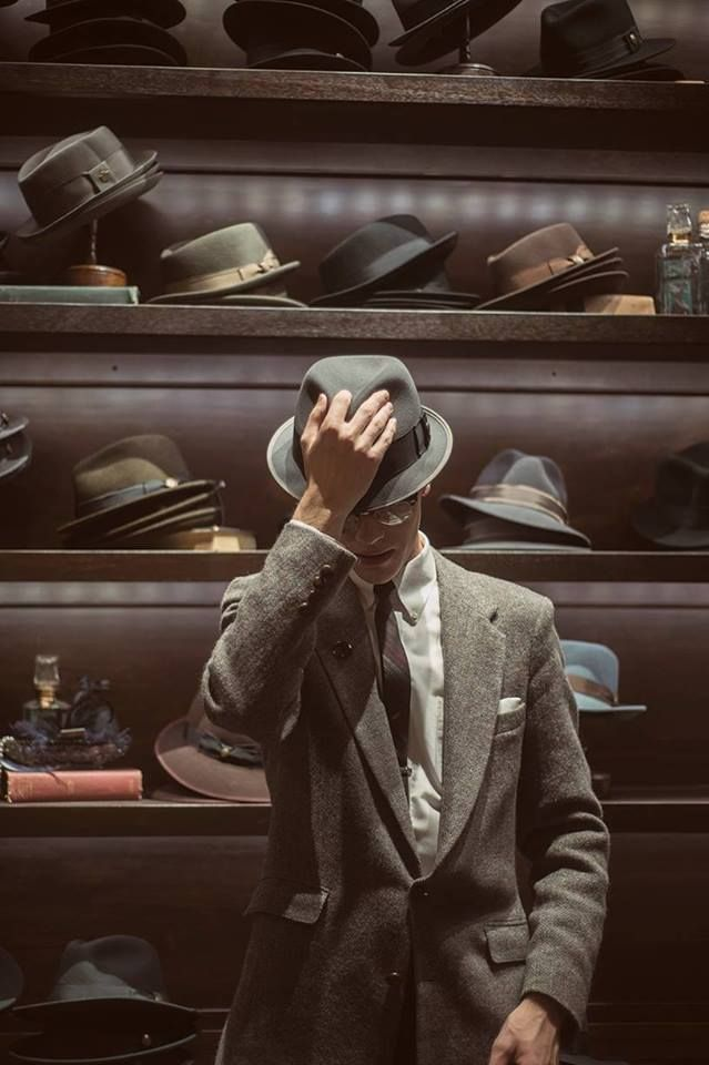A beautiful moment captured at our Goorin Bros. LINQ Hat Shop in Las Vegas. Photo by Rachel Bellinsky Photography.