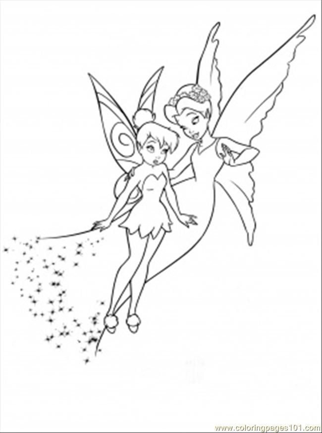 Printable Disney Fairies Coloring Pages Coloring Me Coloring