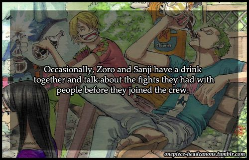 One Piece (And again, I love their bromance)