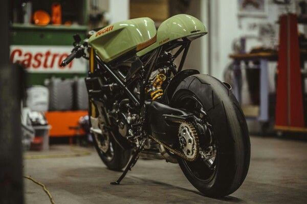Ducati 848 custom cafe racer by NCT