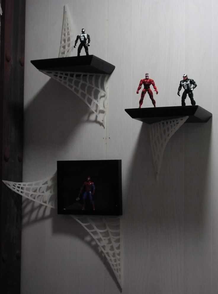 Spider-man bathroom-- if I ever have boys!