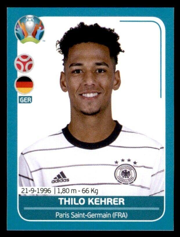 Panini UEFA Euro 2020 Preview - Thilo Kehrer Germany No. GER10 ...